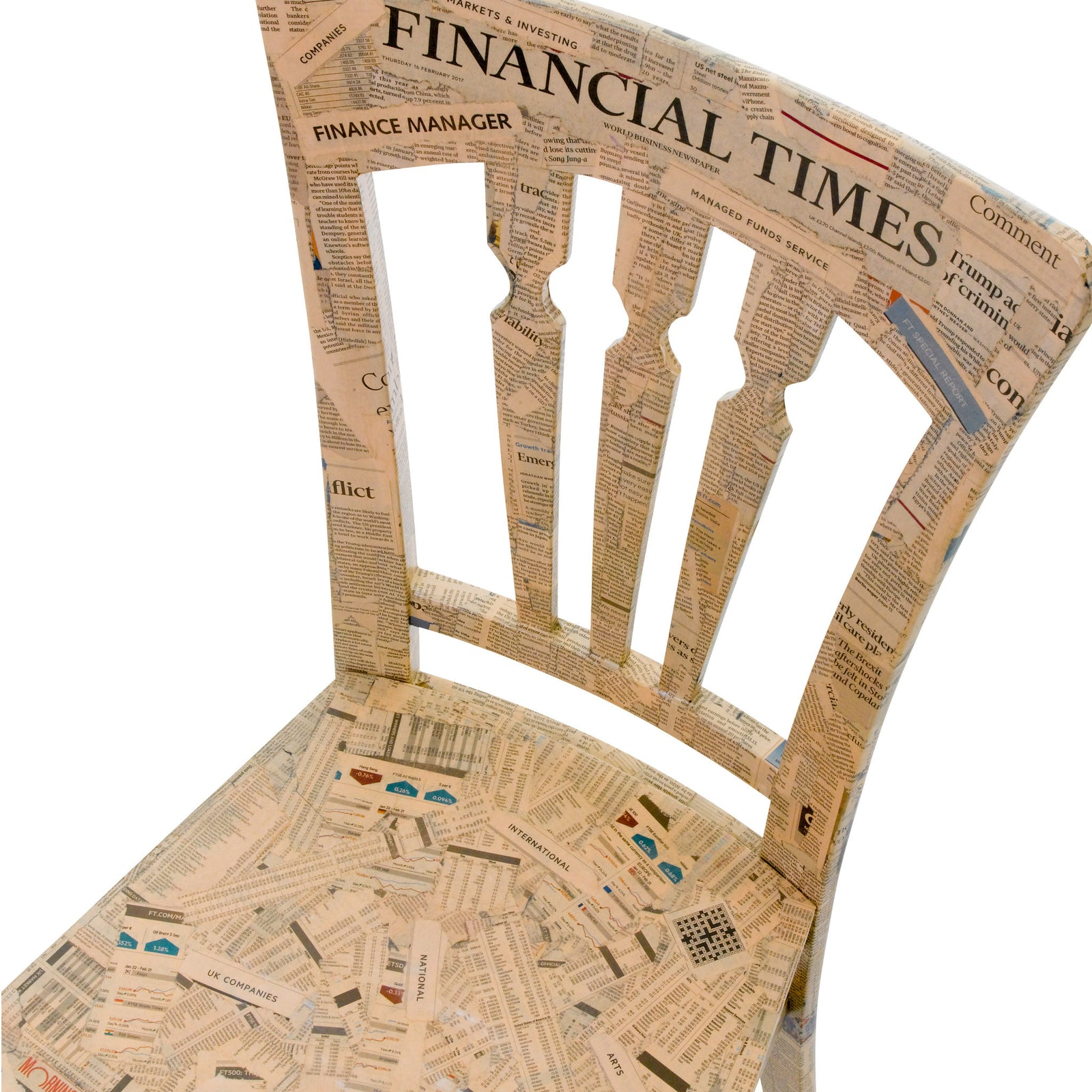 The Financial Times Chair - the prefect gift for the financier in your life!
