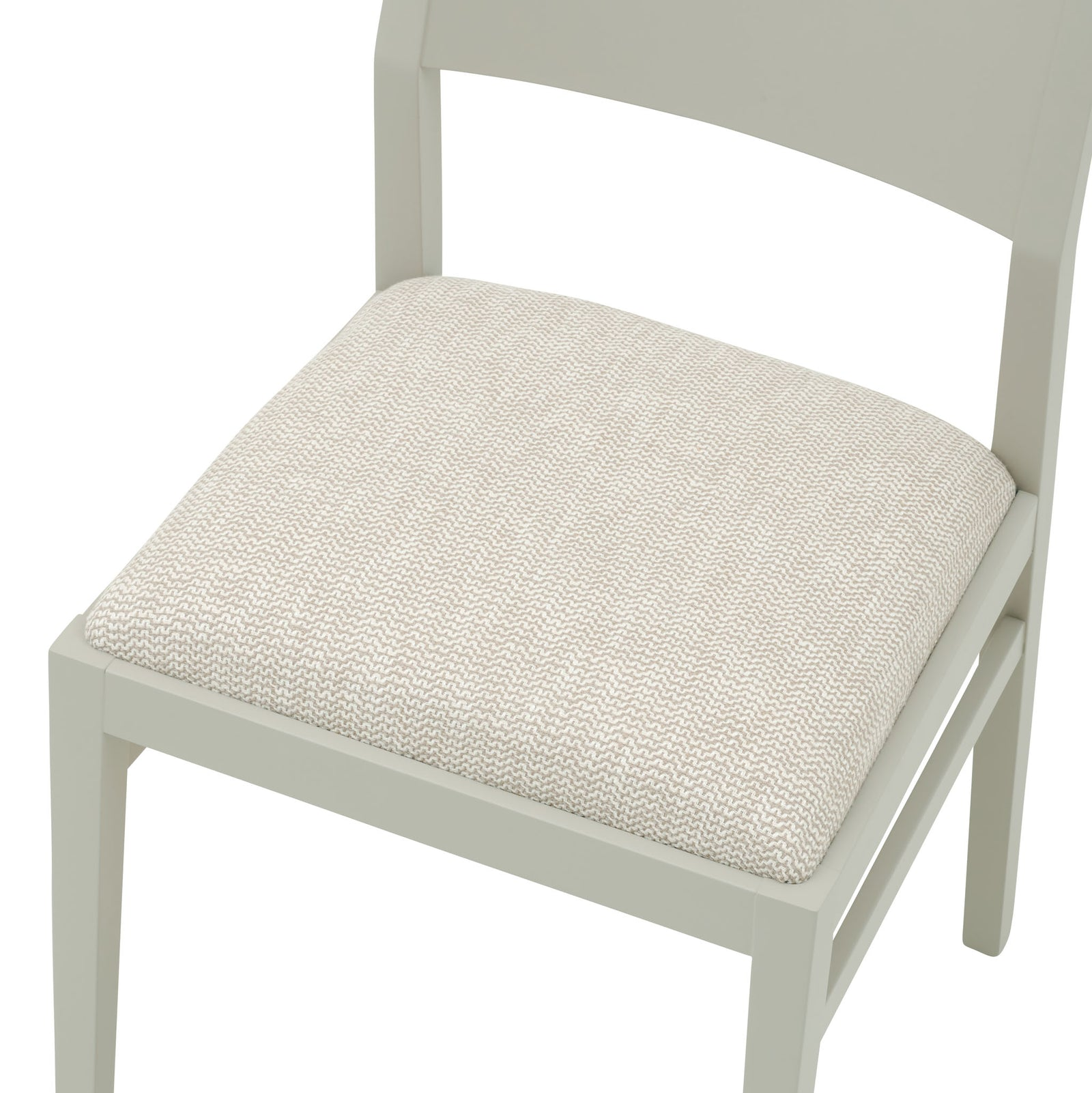 The Stylish James Chair in the textured weave Kora Basket from Villa Nova