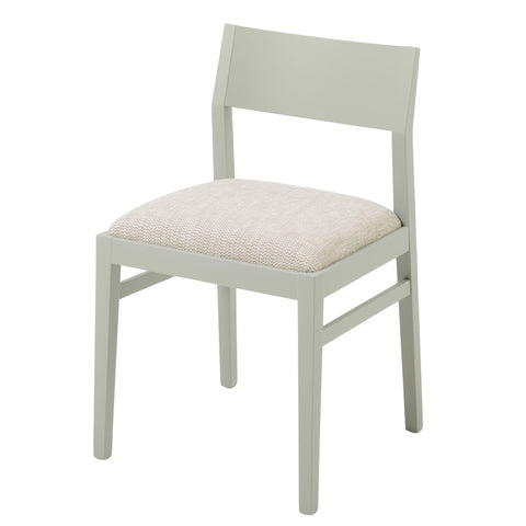 The Stylish James Chair in the luxurious Slubby Linen from Warwick Fabrics