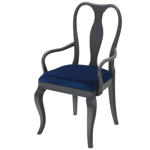 Marco Chair in Cobalt Blue  Luxurious Velvet | Cheeky Chairs