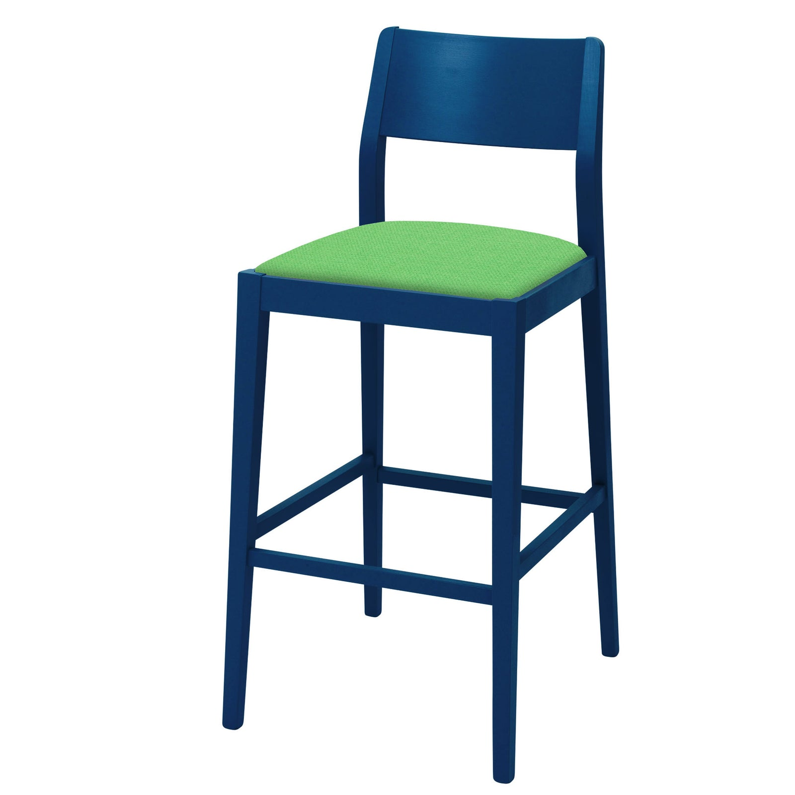 James Shaker Style Bar Stool designed to Colour Match the colour scheme in your own home