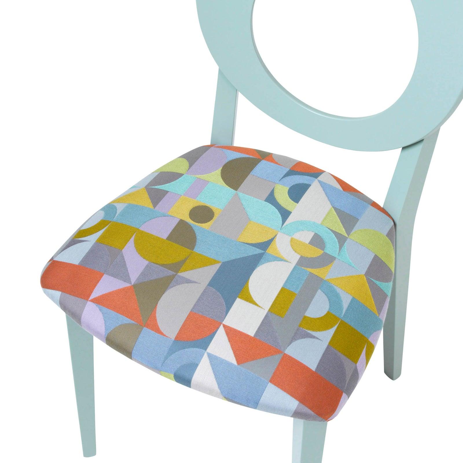 Chloe Contemporary Chair in the beautiful Motown from Margo Selby