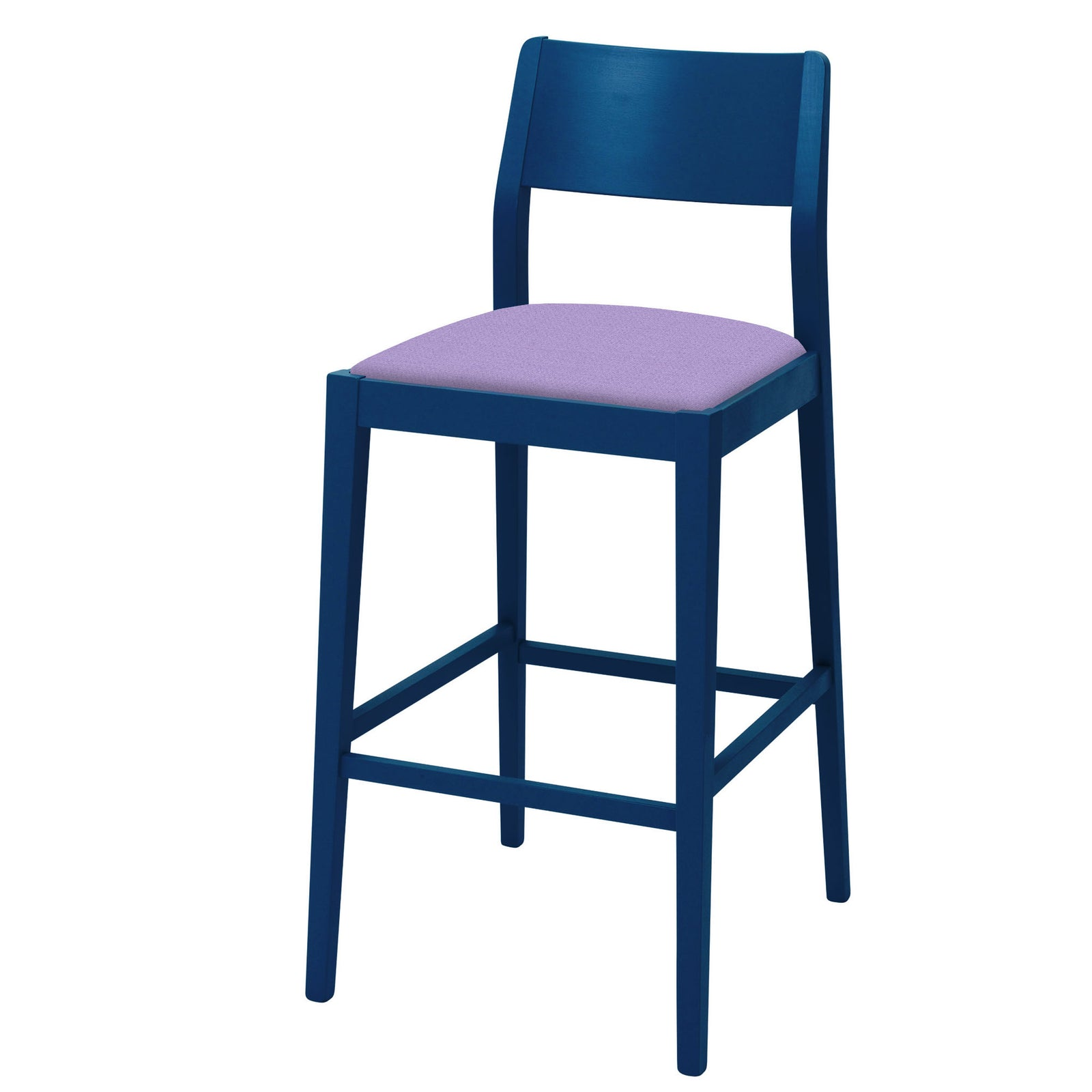 James Shaker Style Bar Stool made-to-order in your chosen colourway.