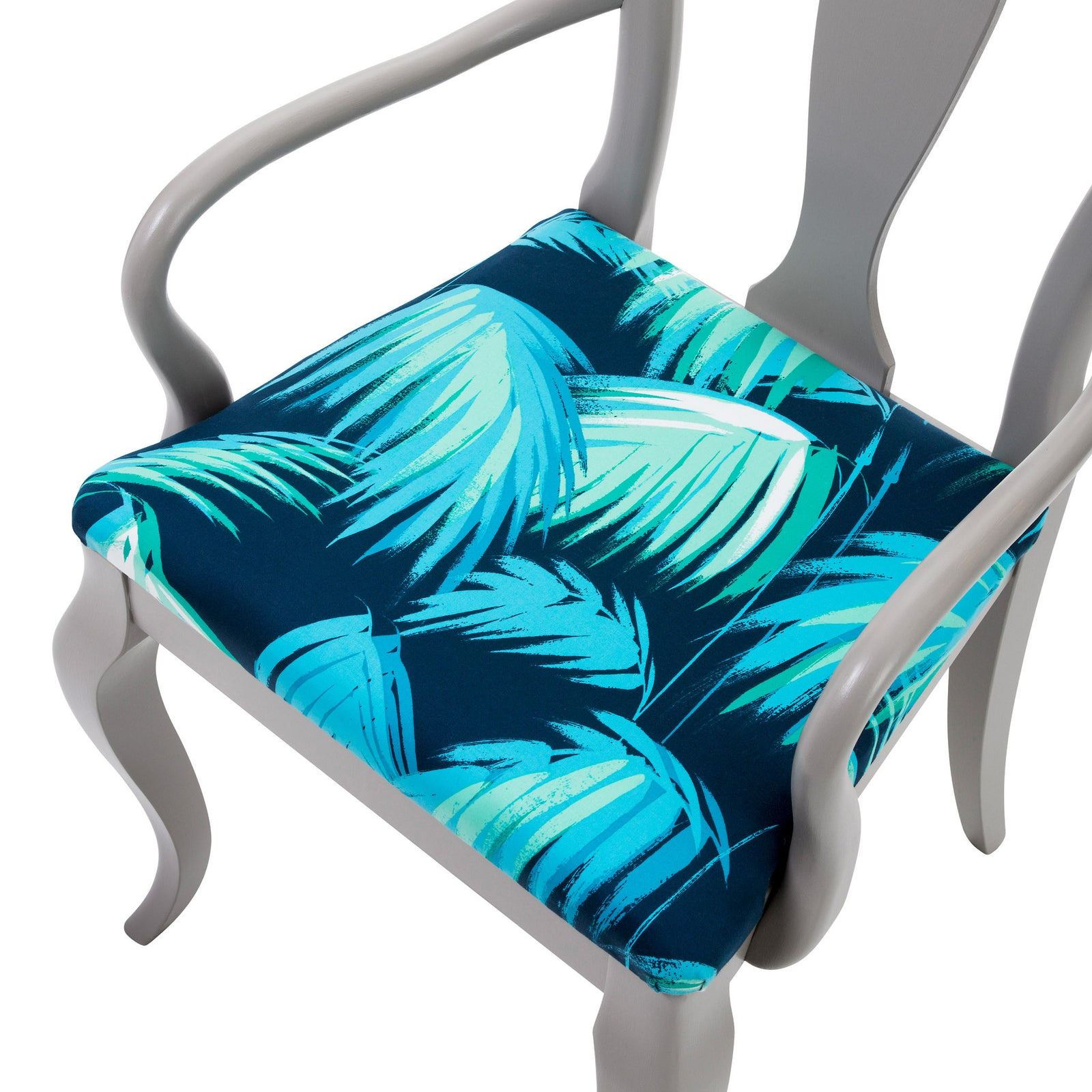 The Contemporary  Marco Chair Upholstered in Matthew Williamson Tropicana