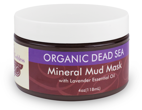 Organic Dead Sea Mineral Mud Mask by Heavenly Goddess