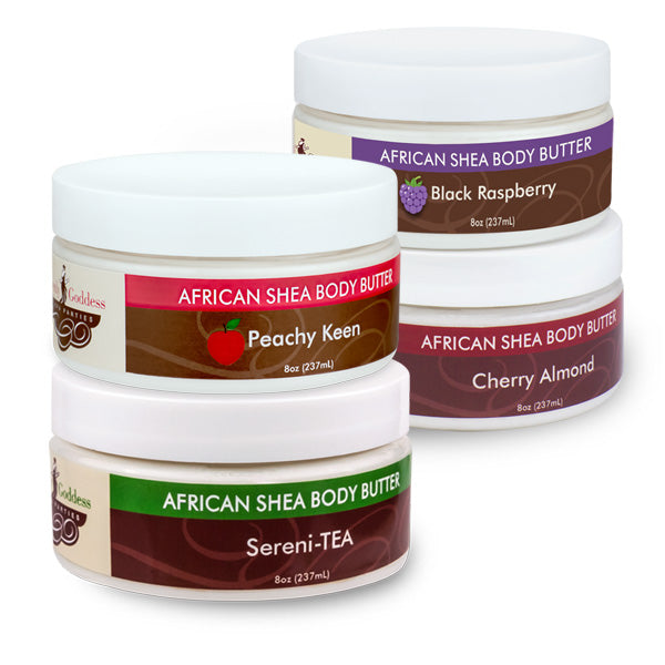 African Shea Body Butter by Heavenly Goddess