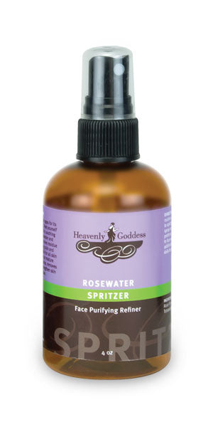 Rosewater Spritzer Face Purifying Refiner by Heavenly Goddess