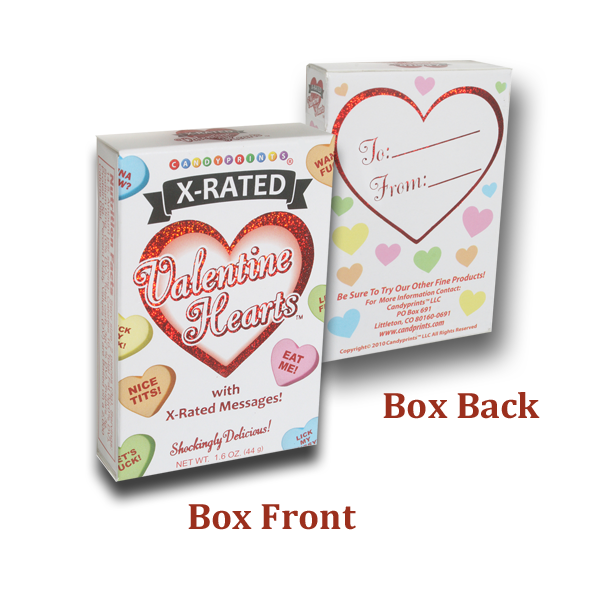 X-Rated Valentine's Day Heart-Shaped Candies