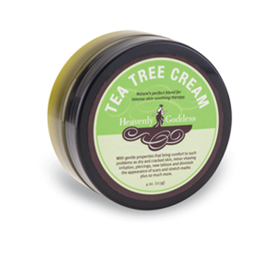 Heavenly Goddess Tea Tree Cream Intense Skin-Soothing Therapy