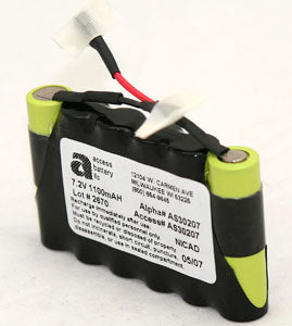 7.2V 1100MAH NICAD MEDICAL (AS30207)