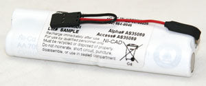 4.8V 700MAH NICD BATTERY (AS35069)