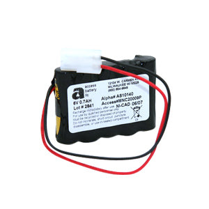 6V 700MAH NICD BATTERY (AS10140)