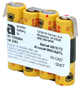 4.8V 700MAH NICD BATTERY (AS10172)