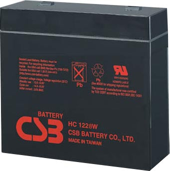 12V 28W (7AH) SLA BATTERY AS31985