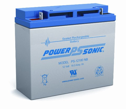 12.0v 18.0Ah SLA Battery PS-12180NB