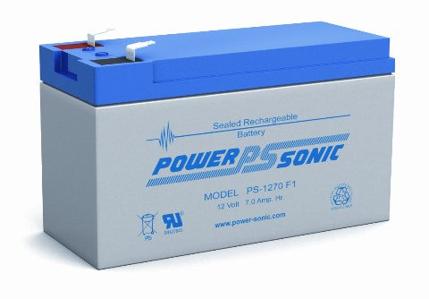 12.0v 7.0ah SLA Battery PS-1270