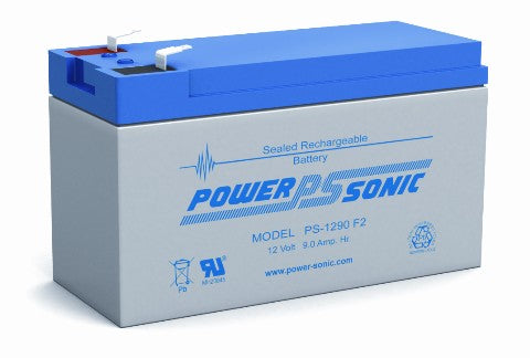 12.0v 9.0ah SLA Battery - High Capacity PS-1290