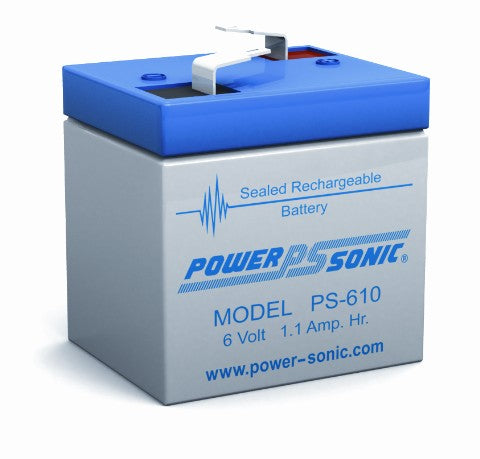 6v 1.1Ah SLA Battery PS-610