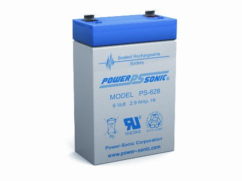 6V 2.9AH SLA BATTERY (PS-628)