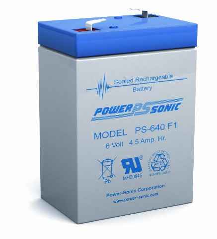 6V 4.5AH SLA Battery (PS-640)