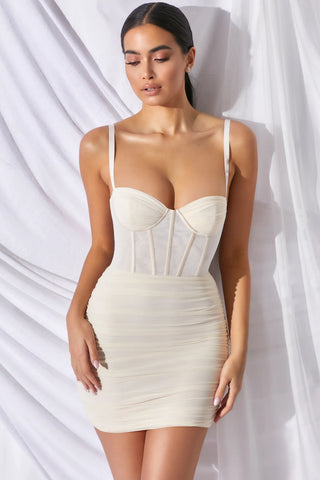Sexy Push Up Straps Stacked Dress