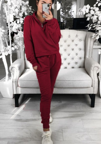 Long Sleeve Sheer Sweat Suit