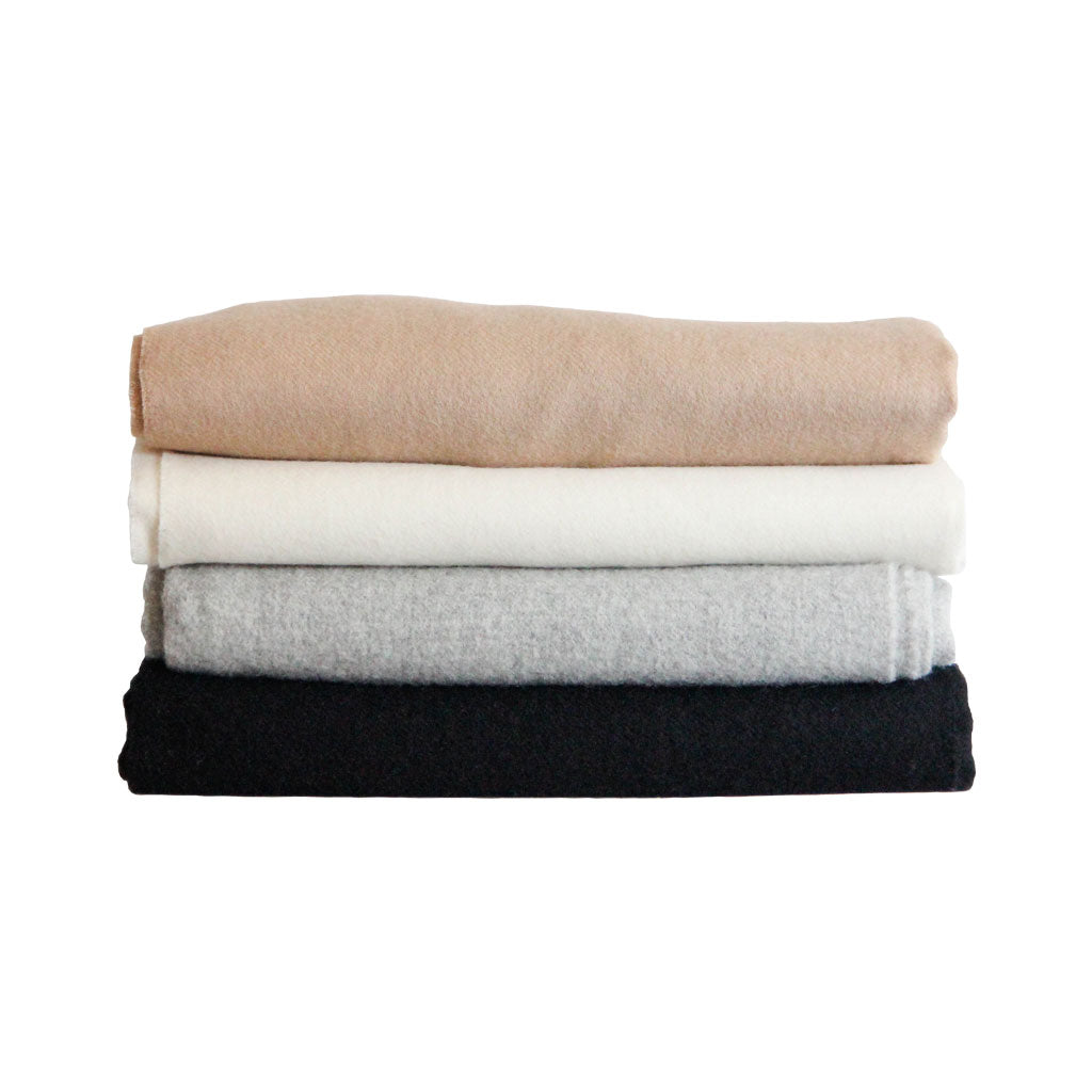 Alpaca Throw Blankets in neutral colors