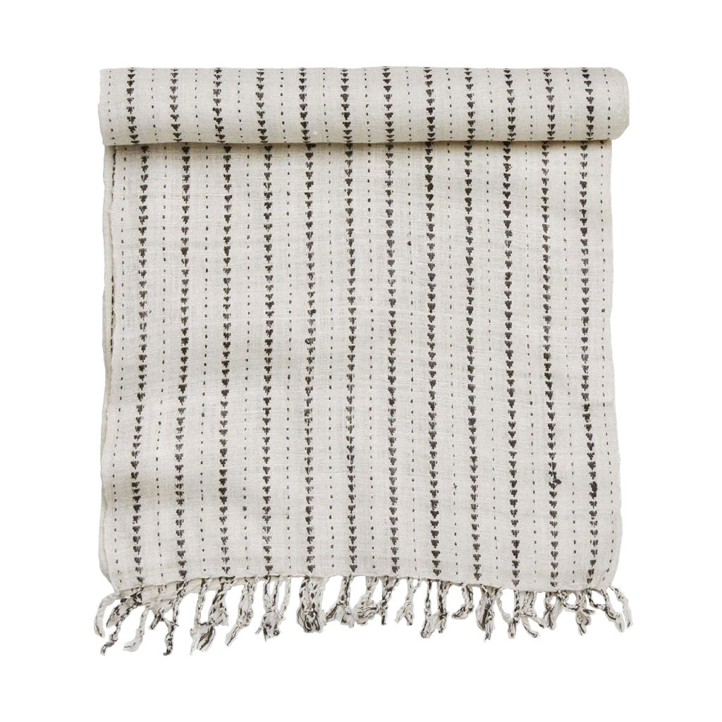 Hand woven table runner table cloth