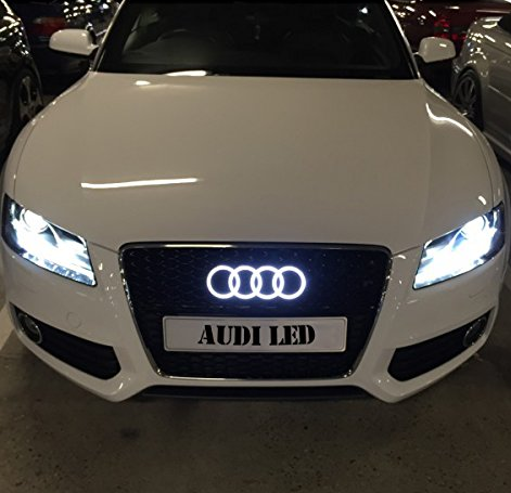 Audi Front & Rear Light-Up Emblem