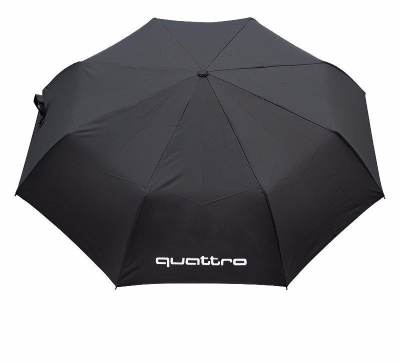 German Lights, Automatic Folding Audi Quattro Umbrella, Umbrella,