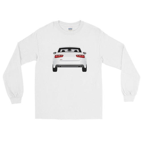 German Lights, White S6 Long-Sleeved Tee| German Lights Exclusive, ,