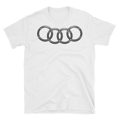 German Lights, Exclusive Audi Platinum Black T-Shirt, ,