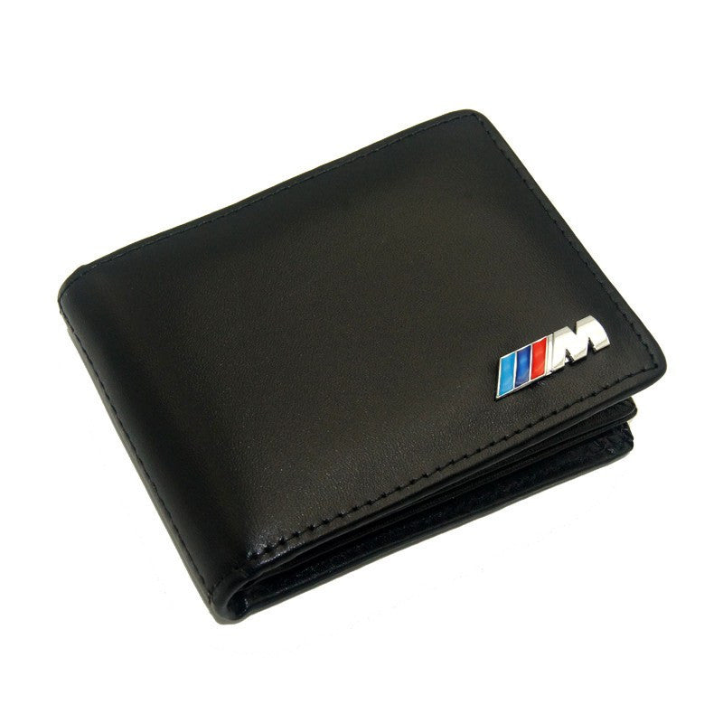German Lights, Genuine Leather BMW M Wallet, wallet,