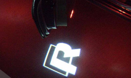 German Lights, 'R' LED Door Light Projectors, LED Car Logo Projector,