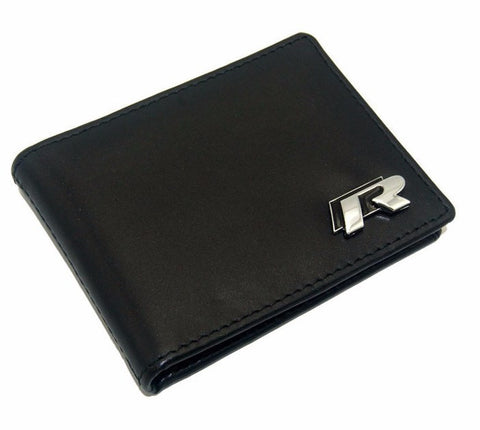 German Lights, VW R Genuine Leather Card Wallet, vw wallet,