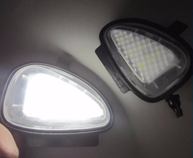 German Lights, 2x VW Ultra LED Under Mirror Lights, ,