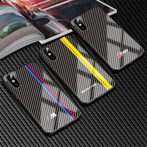 German Sports Carbon Fibre iPhone Case