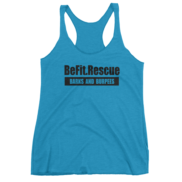 BE FIT RESCUE TANK  - ATHLETIC APPAREL - BARKS & BURPEES