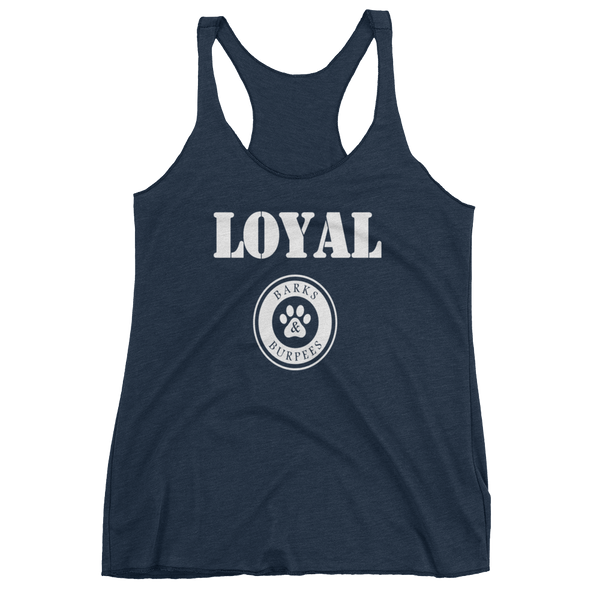 Barks and Burpees Loyal Tank - Fitness & Animal Rescue