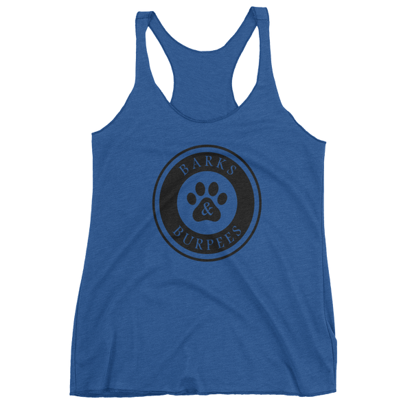 Barks and Burpees Tank Top - Fitness & Dog Rescue