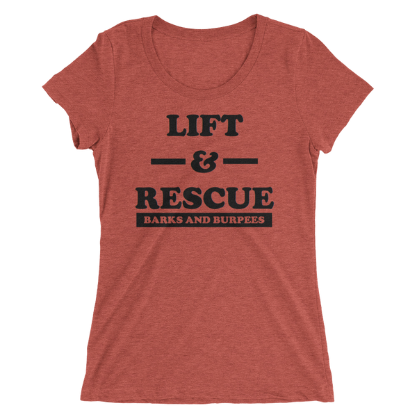 LIFT & RESCUE WOMEN'S TEE
