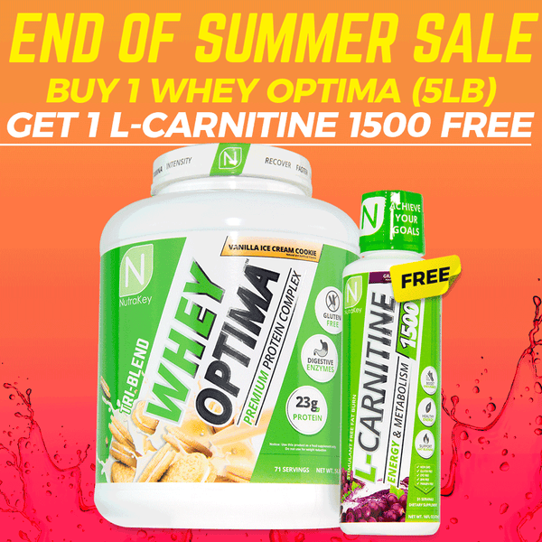 Whey Optima End of Summer Sale
