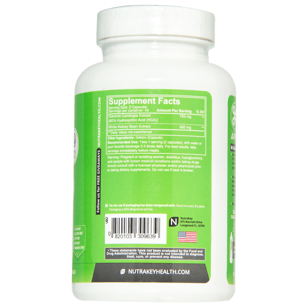 Garcinia Cambogia with White Kidney Bean
