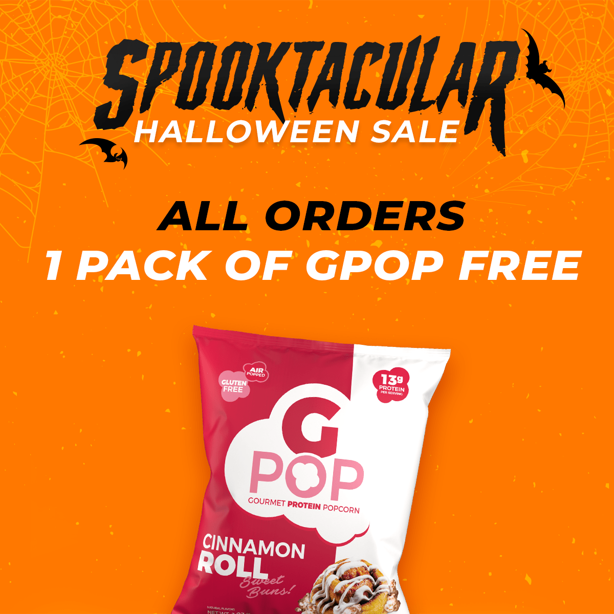 G POP Single Serving Bag