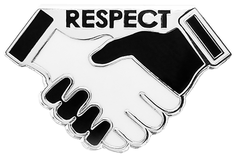 Hands of Respect Lapel Pin [BULK ORDERS]