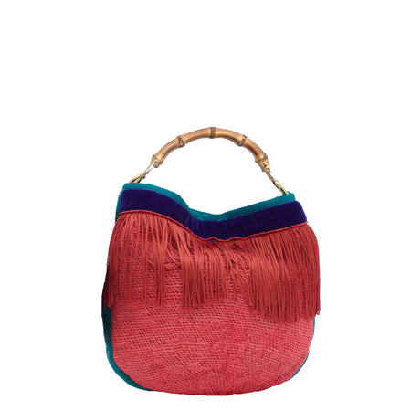 Lida Blue Ivy Shigra Bag