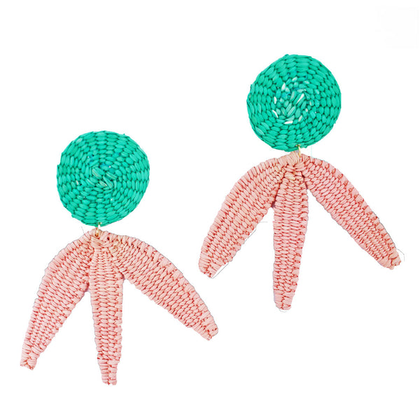 Palmas Toquilla Earrings