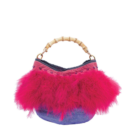 Gallina Ruby Pink Shigra Bag