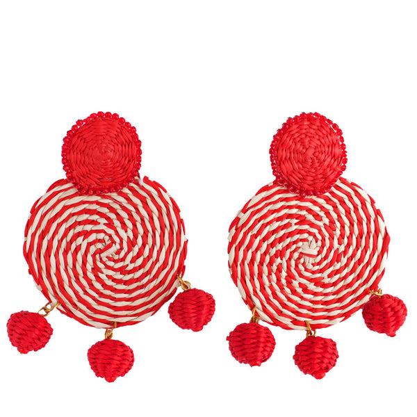 Toquilla Straw Raymi Earrings