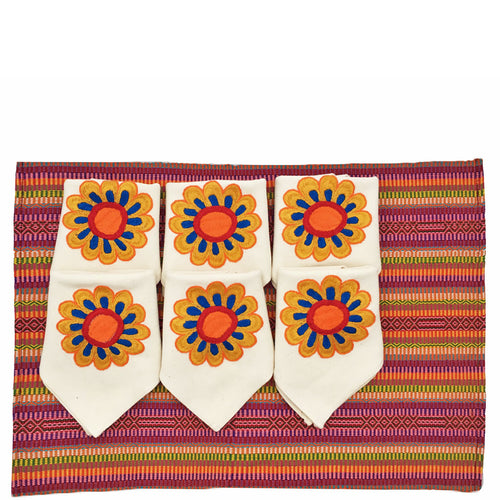 Faja Placemats and Napkins Set
